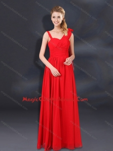 2015 Top Seller Ruching Empire Cocktail Dresses with Asymmetric