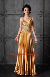 Perfect Empire V Neck Cocktail Dresses with Beading