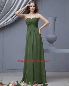 2016 Modern Empire Sweetheart Cocktail Dresses with Ruching