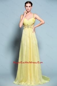 Popular Empire Straps Cocktail Dresses with Beading