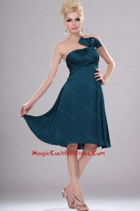 Elegant Short Strapless Cocktail Dresses with Ruching