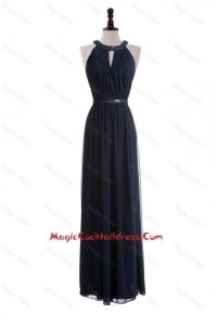 2016 Custom Made Empire Halter Top Cocktail Dresses with Belt