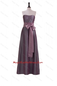 Brand New Sweetheart Belt and Bowknot Cocktail Dresses in Brown