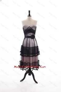 Low price A Line Sweetheart Cocktail Dresses with Ruffled Layers