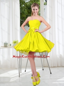 Pretty 2016 Short Cocktail Dresses with Sweetheart
