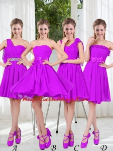 Pretty Sweetheart Beading Short Cocktail Dresses in Purple