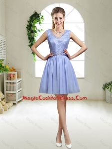 Discount V Neck Cute Cocktail Dresses with Appliques and Sequins