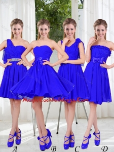 Elegant A Line Sweetheart Sexy Cocktail Dresses in Royal Blue