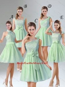 Romantic Short Sexy Cocktail Dresses with Hand Made Flower for Wedding Party