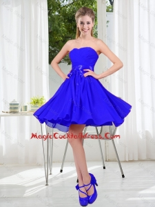 2016 New Style A Line Sweetheart Cheap Cocktail Dresses for Wedding Party