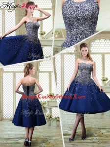 Luxurious Sweetheart Beading Cocktai Dresses for 2016