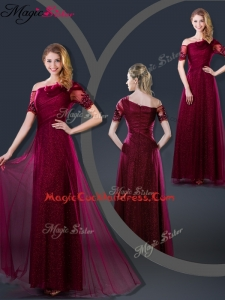 Perfect Empire Appliques Cocktail Dresses with Asymmetrical