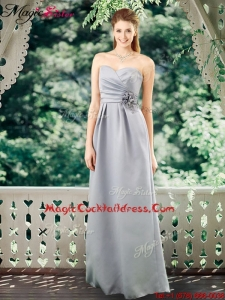 2016 Romantic Empire Sweetheart Cocktail Dresses with Hand Made Flowers