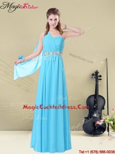 Inexpensive Floor-length One Shoulder Designer Cocktail Dresses
