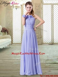 2016 Sweet Empire Halter Top Designer Cocktail Dresses in Lavender