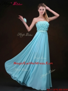 Beautiful Empire Strapless Popular Cocktail Dresses with Appliques
