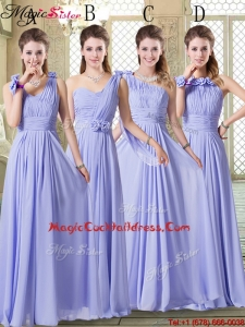 Pretty Empire Floor Length 2016 Cocktail Dresses in Lavender