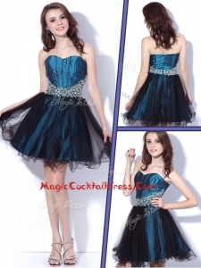 Lovely Sweetheart Beading Short Cocktail Dresses for Homecoming