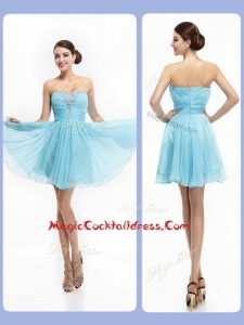 Top Selling Strapless Short Cocktail Dresses with Beading