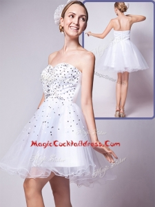 Cheap Sweetheart Beading Short Cocktail Dress for 2016