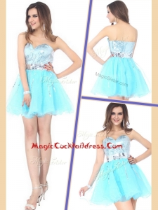 Beautiful Short Sweetheart Sequins Cocktail Dresses for Cocktail