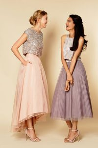 Hot Selling Scoop Sleeveless Cocktail Dress Ankle Length Sequins Pink Organza