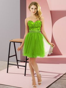 Sophisticated Mini Length Zipper Cocktail Dresses for Prom and Party with Beading