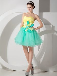 Ruched Sweetheart Organza Wedding Cocktail Party Dress Kentucky