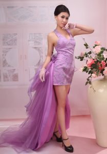 V-neck Mini-length Detachable Cocktail Party Dresses in Trenton USA