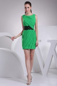 Spring Green Bateau Neck Mini Cocktail Dresses in Indianapolis USA