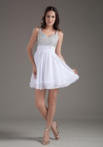 Perfect A-Line Straps 2013 Short with Beading Prom Cocktail Dress in Tauranga