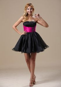 A-line with Beading Decorate Black 2013 Cocktail Dress for Prom in Alice