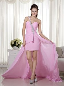 Column One Shoulder High-low Homecoming Cocktail Dresses in Kenton-on-Sea