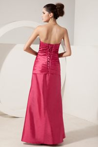 Sheath Strapless Floor-length Beading Wedding Cocktail Party Dress