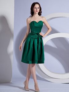 Taffeta Sweetheart Green Knee-length Colmar France Cocktail Dresses